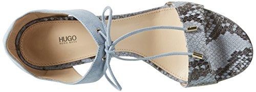 Hugo Vanea-p 10197235 01, Sandales Bout Ouvert Femme Bleu (Light/pastel Blue 451)