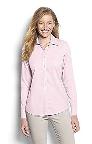 Orvis Wrinkle-free Cotton Pinpoint Oxford Shirt, Petal Pink,