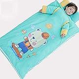 Baobei Saco de Dormir para bebés Niños Primavera y otoño Invierno Invierno Saco de Dormir de algodón Four Seasons Edredón Universal Bebé El niño Grande Anti-Kick es Saco de Dormir de Doble bilis