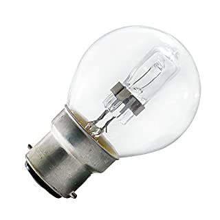 Arcotec 274242 Globe Halogen Eco Bulb B22 Bayonet Cap 28 W 2