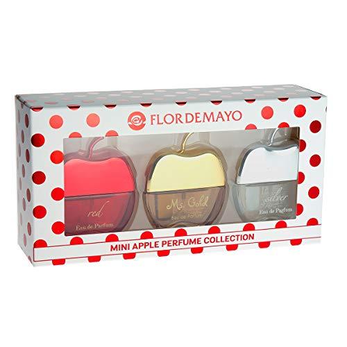 Flor Mayo, Set fragancias APPLE mujeres - 75 ml