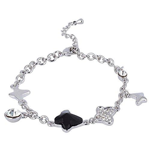 swarovski-elements-negro-mariposa-pulsera-de-encanto-rodio-chapado-regalo-ideal-para-mujeres-y-ninas