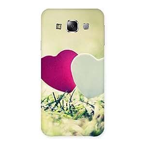Couple Heart Back Case Cover for Samsung Galaxy E5
