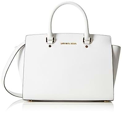 Michael Kors Handbag Selma 30S3GLMS7L Optic white
