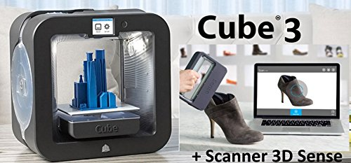 Imprimante 3D Cube 3 + Scanner 3D Sense
