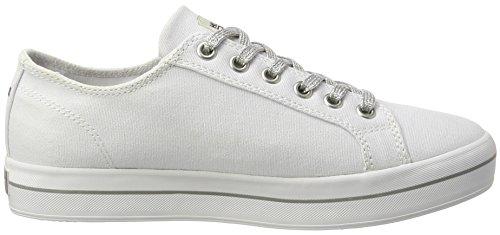 Tommy Hilfiger Damen N1385ice 1d1 Sneakers Weiß (White 100)