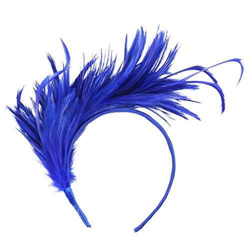 Daysing Coiffure De Plumes, Bande De Cheveux De Jour Bande De Cheveux Bande De Cheveux Bandeau Floral Headpiece for Hair 2019 Mode New Banquet Bandeau Headdress Wedding Party Less