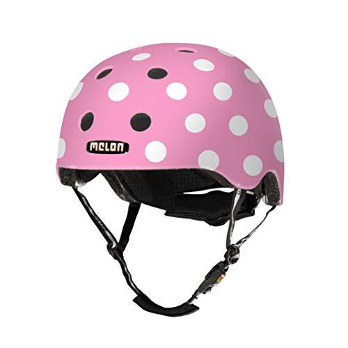 MELON Urban Active Fahrradhelm, Dotty Pink, XL-XXL