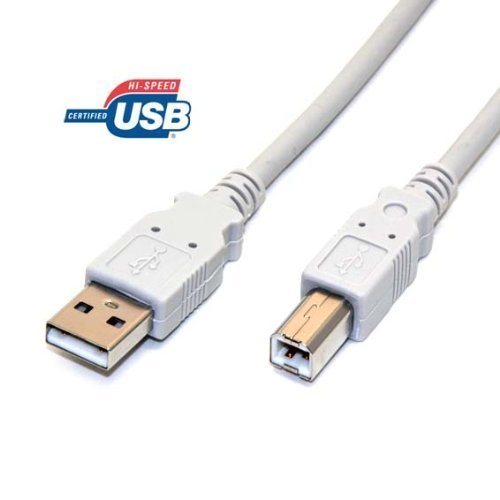 #N/A 6FT High-Speed USB 2.0 printer cable A to B for Brother MFC-7860DW