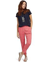TOM TAILOR Damen Hose Printed Loose Fit Pants