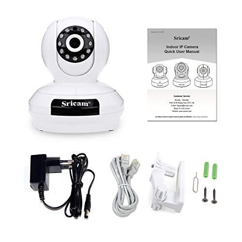 Preisvergleich Produktbild SP019 1080 P HD Überwachungskamera Baby Monitor Nachtsicht Bewegungserkennung WiFi IP Überwachungskamera Tf-Karte