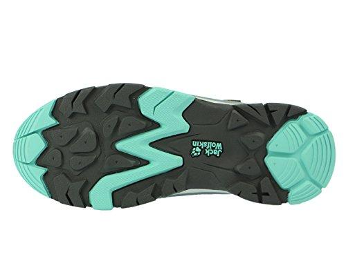 Jack Wolfskin MTN Attack 2 Texapore Low Kinder Schuh pool blau/grau