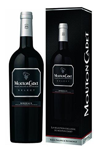 Vin Rouge Mouton Cadet Select etui - Lot de 3x75 cl