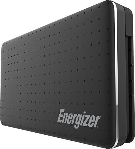 Energizer Powerbank, externer Akku mit integrierten Lightning Kabel, kompaktes Handy Ladegerät für iPhone Xs/Xs Max, Xr/X, iPhone 8/8 Plus sowie iPad 9,7 (2017 & 18) und viele weitere