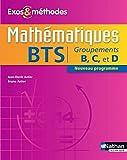 Mathématiques BTS Groupements B, C et D...