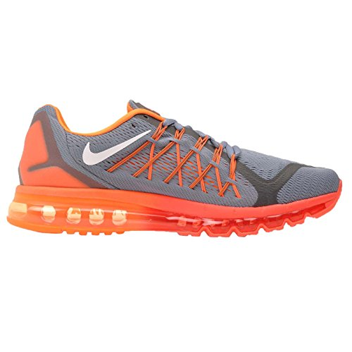 Nike Air Max 2015, Running Entrainement Homme Blue Graphite/White/Total Orange-bright