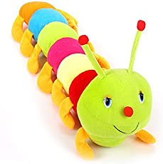 Deals India Cute Colourful Caterpillar Soft Toy (70 cm)