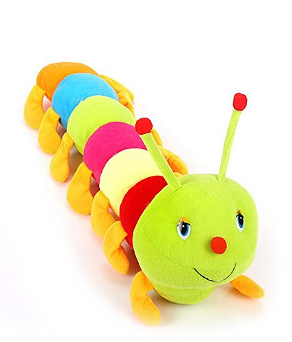 Deals India Cute Colourful Caterpillar Soft Toy (2.8cm)