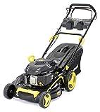 Rasenmäher Benzin Craftfull Premium 5in1 139cc Motor mit 62L Grasfangkorb und 48 cm Schnittbreite
