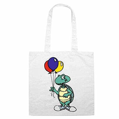e Motiv Nr. 12932 Schildkröte mit Ballons Cartoon Spass Fun Kult Film Cartoon Spass Fun Kult Film Ei (Ninja-ballons)