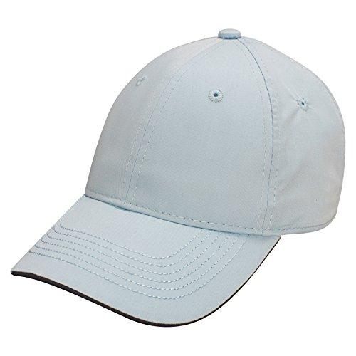 Columbia Womens Visor (Ouray Sportswear Unisex-Erwachsene Flip Visor Lightweight Epic Cap Hut, Columbia Blue/Navy, Einstellbar)