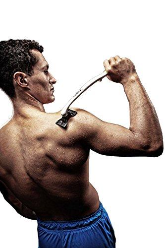 Körper- und Rückenrasierer, Nassrasierer Sleec Body-Sportrazor weiß/neongruen