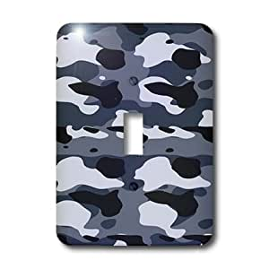 Patriotic USA 2 Plug Outlet Cover Military 3dRose lsp/_36149/_6 Green Camouflage