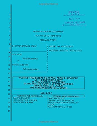 sloan-vs-ware-and-bank-of-america-clerks-transcript-on-appeal-vol-3-by-samuel-h-sloan-2013-03-07