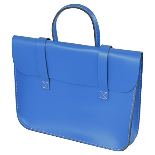 1db9764ed0c5 Oxford Traditional Leather MC1-RB Music Case- Royal blue