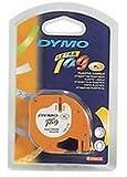 Dymo Letratag Plastic Tape 12mmx4M Dark Green