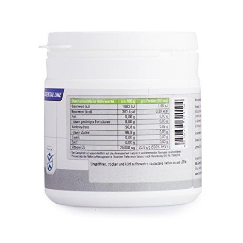 Vitamin D3 Hochdosiert | Vitamin-Pulver als Nahrungsergänzung für Alltag, Sport, Fitness & Bodybuilding | Immunsystem stärken | TNT Premium Qualität aus Deutschland - 90g - 4