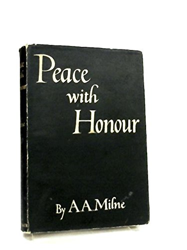 Peace with Honour