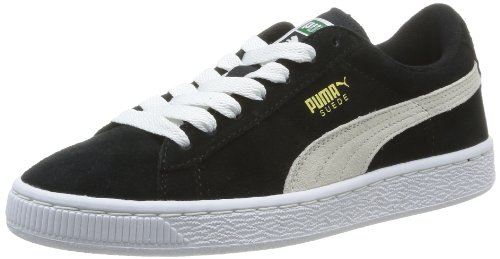 Puma 355110/38, Baskets mode mixte enfant Noir (Black/White)