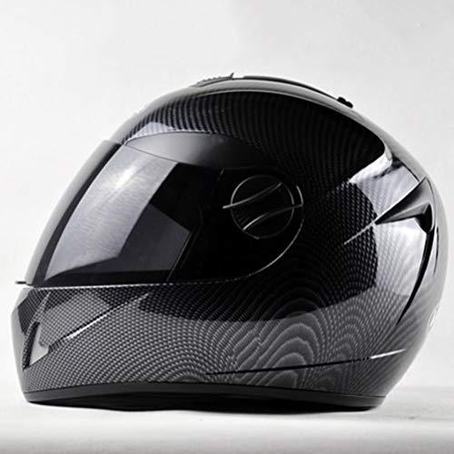 Casco Unisex de Motocicleta para Adultos