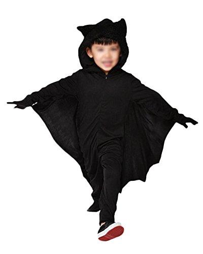 Vampir Fledermaus Flügel Halloween Vampir Flügel Bat Wings Karneval Kostüme Schwarz2 M