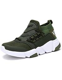 KEFAS - Zapatillas de ante para hombre, color Beige, talla 45