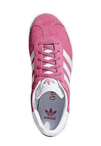 adidas Unisex-Kinder Gazelle J Fitnessschuhe, Pink (Rosa 000), 38 EU