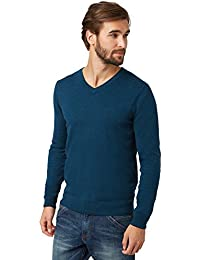 Tom Tailor - Pull Tom Tailor Merino V-Neck Sweater