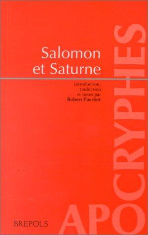 SALOMON ET SATURNE. Quatre dialogues en vieil-anglais