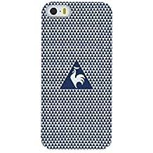 Le Coq Sportif lcstricovip5b Folio Reverso Custodia Protettiva per Apple Iphone 6/6S Giallo/Blu