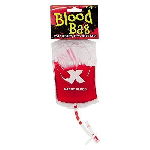 (Candy Blood Bag, strawberry flavoured candy goo by pms)