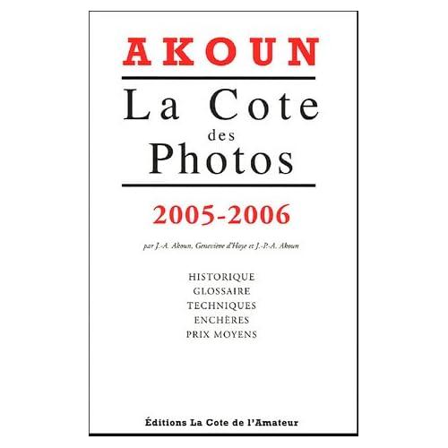 Cote des photos 2005