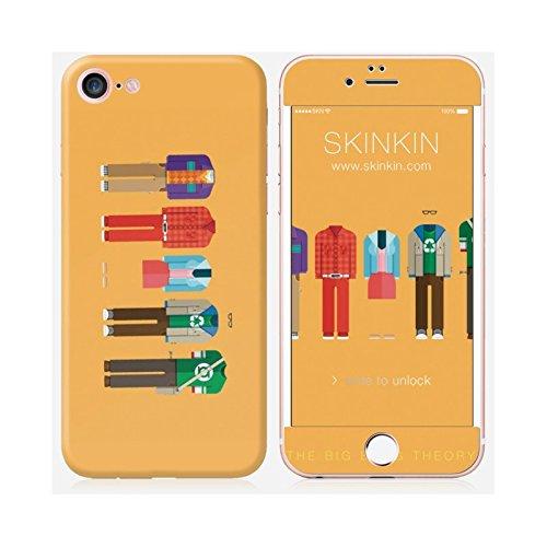 Sticker iPhone 7 de chez Skinkin - Design original : Big Bang Theory par Frederico Birchal, Coques iphone