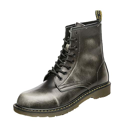 Letter54 Herren Warm Outdoor Schuhe Einfarbig Winterschuhe Mode Trekkingschuhe Wasserdicht SneakerFlach Freizeitschuhe 128