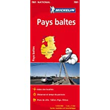 Carte NATIONAL Pays Baltes