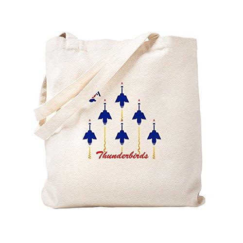 CafePress–Thunderbirds–Leinwand Natur Tasche, Reinigungstuch Einkaufstasche, canvas, khaki, S