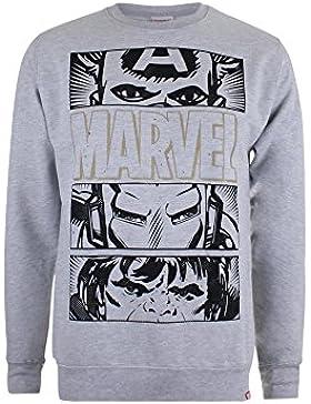 Marvel Hero Eyes Dark, Felpa Uomo