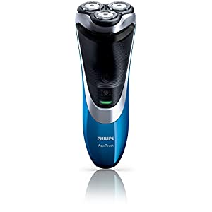 Philips AquaTouch Plus AT890/16, Wet and Dry Electric Shaver with DualPrecision Shaving and Pop-up Trimmer