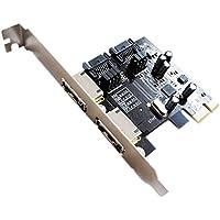 Rokoo PCI-E a SATA3 PCI E SATA3.0 6Gb / s la tarjeta de expansión Asmedia ASD Chip ASM1061