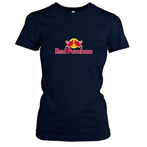 TEXLAB - Red Pumbaa - Damen T-Shirt, Größe M, (Timon Kostüm Pumba)